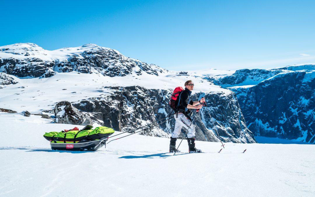 Nytt eventyr med ski og pulk